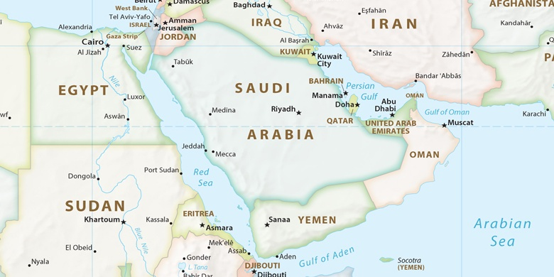 Medina Auf der Karte